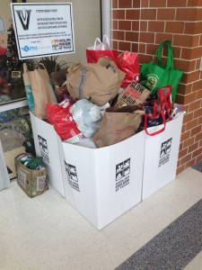 Last year's food drive collected an incredible 14 pallets of food!