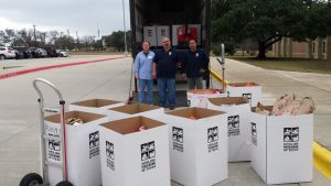 The Central Texas Food Bank Food Drive has raised over 7400 lbs of food!