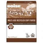 Zuma recommends Boise Aspen 100% Recycled Paper to go green.