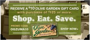 Olive Garden Card