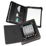 Protects and secures your tablet, with magnetic flap for instant access!