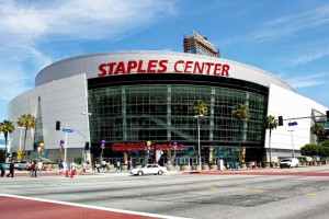 The amount Staples spends on naming rights for Staples Center is more than the sales of most all of their competitors.