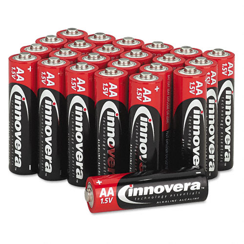 Innovera 24 pack AA Batteries - Free offer!